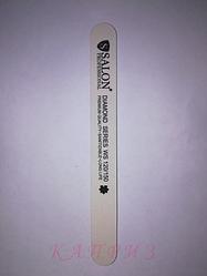 Пилка для ногтей Salon Professional 120х150, прямая узкая.