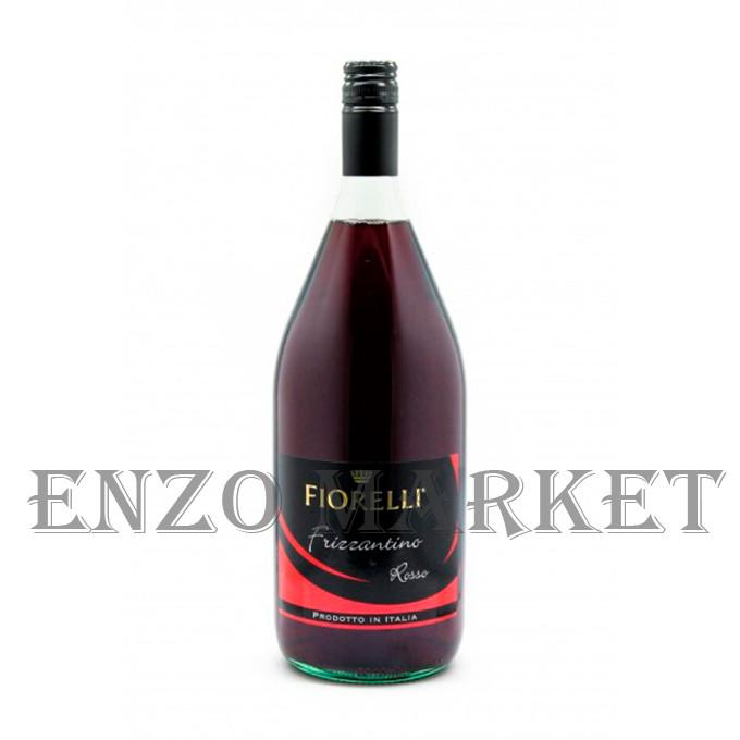 Вино Fiorelli Frizzantino Rosso красное полусладкое