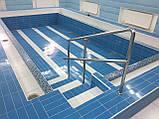 Ограждение для бассейна на три ригеля, фото 5