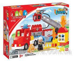 Конструктор JDLT Fire Rescue Пожарная Машина, 36 дет., 5152, 008462
