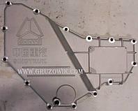 Крышка масляного радиатора (охладителя) короткая Howo, Hania, CNHTC, Sinotruk Foton VG1540010014
