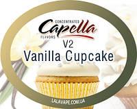 Ароматизатор Capella Vanilla cupcake V2 (Ванильный кекс)