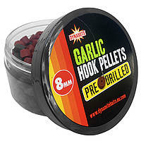 Пеллетс насадочный Dynamite Baits Pre-Drilled Hook Pellets Garlic 8mm 150g
