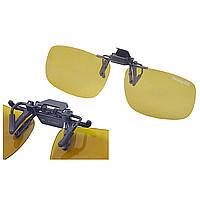 """АКЦИЯ! Накладка поляризационная на очки """"Fishing ROI"""" 1064-Y30 (Yellow)"""