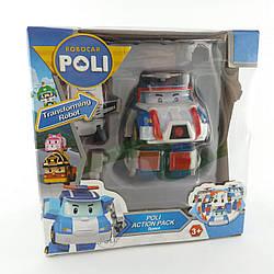 Робокар трансформер Поли с реактивным рюкзаком Robocar POLI 868