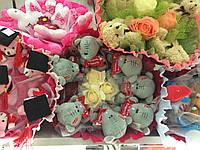 Букет из мягких игрушек  Великолепная семерка (Тедди)