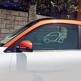 Сонцезахист бічних стекол Smart (450, 451), фото 3