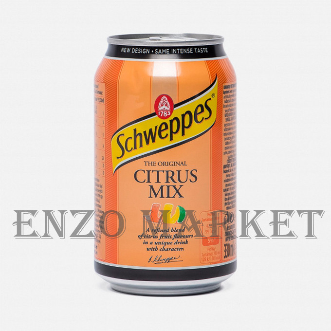 Schweppes Citrus Mix, 0.33 літра