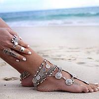 С какой одеждой носить позолоченный ножной браслет?