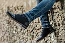 Мужские туфли дерби из кожи и нубука, фото 4