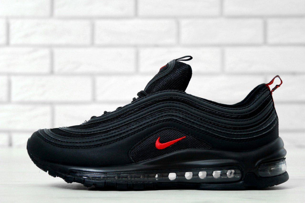 Кроссовки Мужские Черные Nike Air Max 97 Найк Аир Макс — в Категории ... 8852128a189