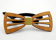 Деревянный галстук-бабочка WBT-1