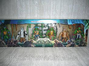 Фигурки Черепашки-ниндзя 6 шт в наборе