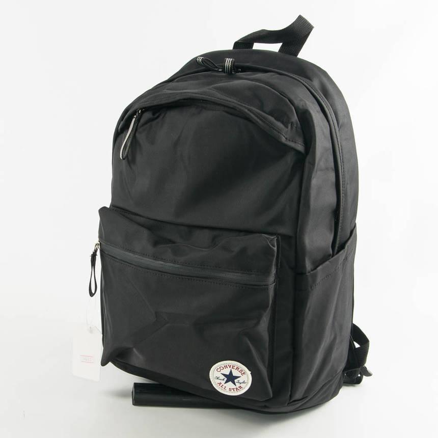 Спортивный рюкзак Конверс - черный - 3031, фото 2