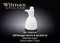 Wilmax Бутылка д-олии/уксуса 230мл