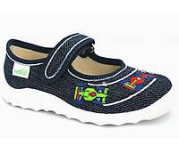 """Текстильные тапочки для мальчика р.21-22-23-24-25-26-27  тм """"Валди"""", (мокасины, слипоны, текстильная обувь)"""