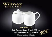Wilmax Набор(сахарница 280мл,молочник 250мл)-2пр.Color