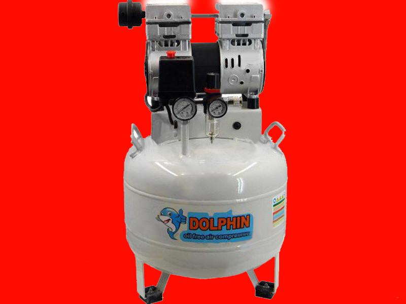 Вертикальный безмаслянный компрессор на 28 литров Dolphin DZW750AF028V