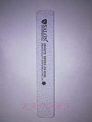 Пилка для ногтей Salon Professional 80х80, широкая прямая.