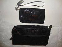 Набор косметичка+чехол для мобильного La Prida (черный)
