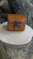 Дерев'яна шкатулка для кілець і прикрас, фото 1