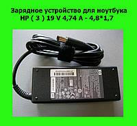 Зарядное устройство для ноутбука  HP ( 3 ) 19 V 4,74 A - 4,8*1,7!Опт