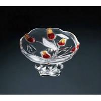 WG Nadinе Satin-Red-Gold Тарелка н-н.180мм