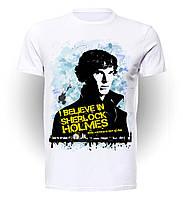 Футболка мужская размер L Geek Land Шерлок Холмс Sherlock Holmes I believe SH.001.11