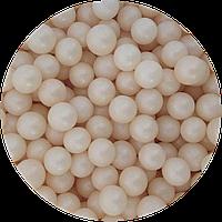 Шарики сахарные перламутровые айвори, 5 мм