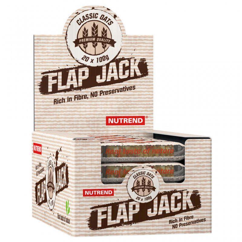 Зернові батончики Nutrend Flap Jack 20x100g