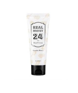 Интенсивный увлажняющий крем для рук MISSHA Real Moist24 Hand Cream (Manuka Honey)
