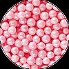 Шарики сахарные перламутровые розовые, 5 мм