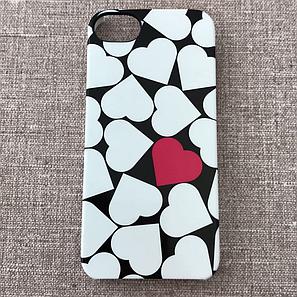 Чехол incase Snap Single Hearts iPhone 5s/SE Chrome/p (CL69155) EAN/UPC: 650450129402, фото 2