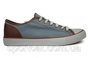 Мужские кеды, джинсовые, синие, Р. 42 43