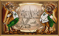 Схема для вышивки бисером Великий город