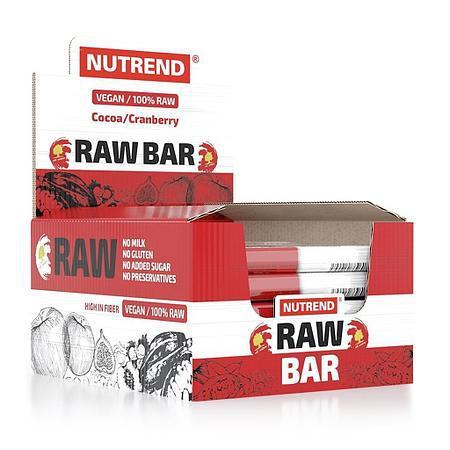 Энергетический батончик Nutrend Raw Bar 20х50g