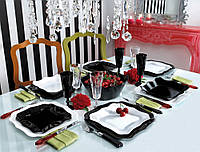 Lum Authentic Black&White Сервиз столовый-19 пр