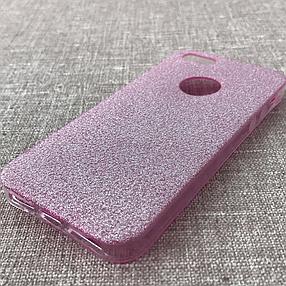 Накладка Remax Glitter Silicone iPhone 5 pink, фото 2