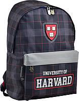 Рюкзак молодежный Harvard black, фото 1