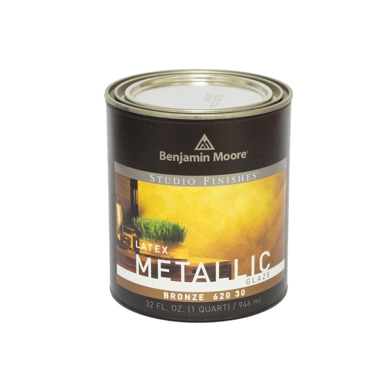 Декоративное латексное покрытие  Benjamin Moore Metalics бронза (620) 0,95 л