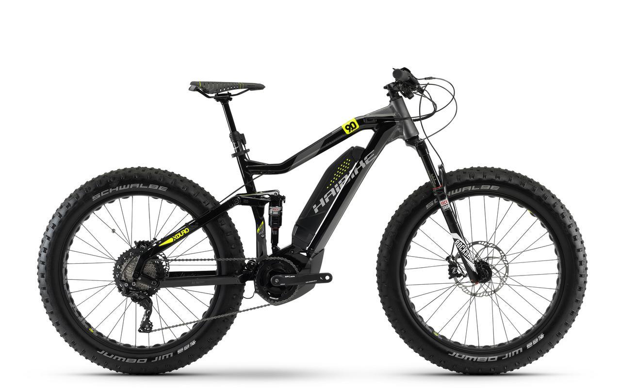 "Велосипед Haibike XDURO FullFatSix 9.0 26"" 500Wh, рама 50см, ход:120мм, 2018"