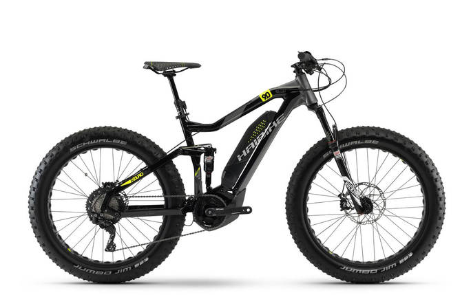 "Велосипед Haibike XDURO FullFatSix 9.0 26"" 500Wh, рама 50см, ход:120мм, 2018, фото 2"