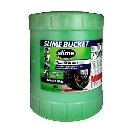 Антипрокольная жидкость для беcкамерок Slime, 19л, фото 2
