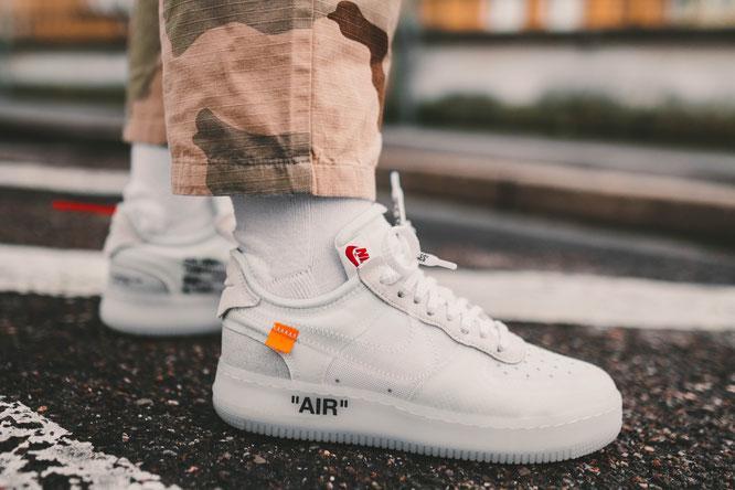 34a01b0a91db Кроссовки Nike Air Force 1 x Off White - Магазин одежды и обуви  welldone store