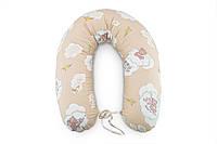 Подушка для кормления Мишки на облаках 35*200