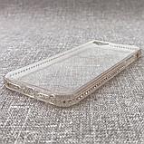 Чехол TPU Fashion Swarovski iPhone 5/5s rose, фото 3