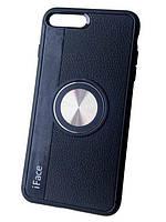 """Силиконовый чехол-накладка iFace с магнитом для iPhone 7/8 Plus (5.5""""), фото 1"""
