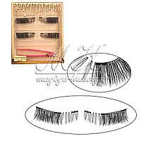 Накладные ресницы на трех магнитах Kylie Cosmetics с пинцетом, MA-15