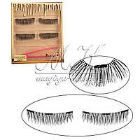 Накладные ресницы на трех магнитах Kylie Cosmetics с пинцетом, MA-19