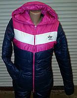 Женская молодежная куртка на двойном силиконе